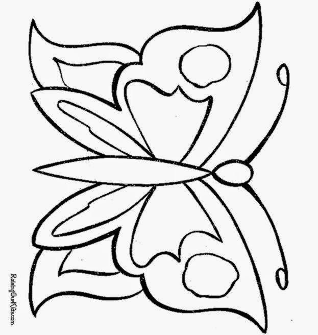 Butterfly Coloring Pages 002