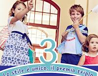 Logo Chicco Tris : stile unico e premio triplo