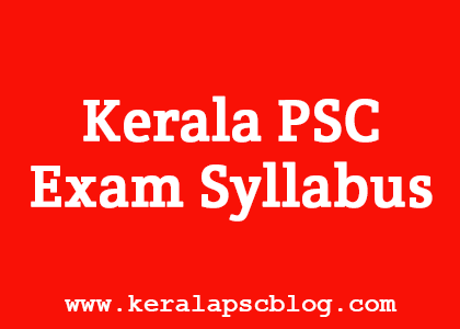 Junior Instructor Health Sanitary Inspector Exam Syllabus
