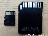 Karta Micro SD SanDisk Ultra 16 GB z Biedronki