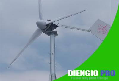 Lắp ráp máy phát điện gió tại Đồng Nai