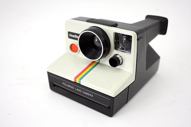 Classic Polaroid cameras