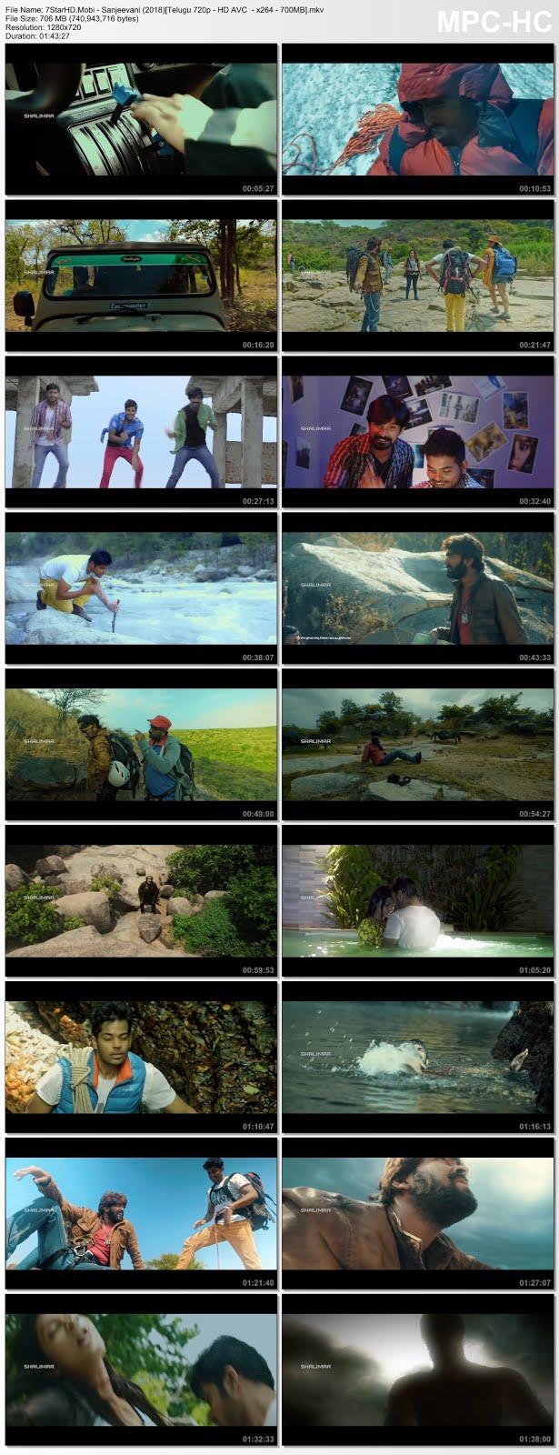 Sanjeevani (2018) Telugu 720p HDRip x264 700MB 7StarHD Com