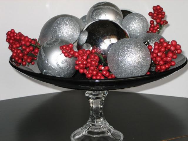 deco table noel fruit