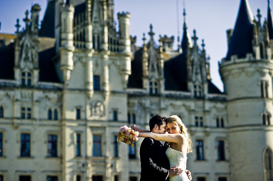 French summer dream wedding in Chateau