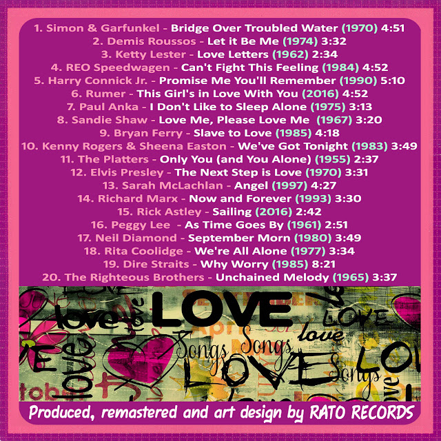 Cd LOVE SONGS FOREVER 3 Back