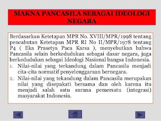 Pengertian Pancasila Sebagai Ideologi Negara Indonesia