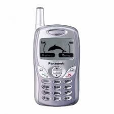 Daftar Beberapa Tipe Handphone Panasonic Jadul