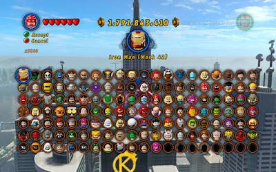 lego superhero games