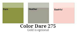 Color Dare #275 - Closes Thur Jan 25th