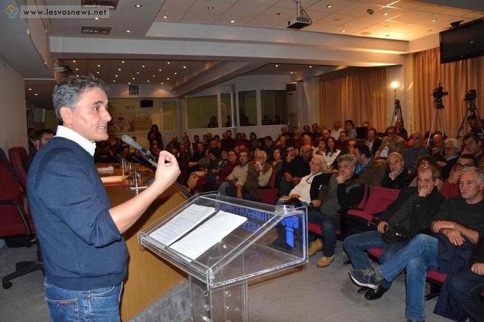 Τσακαλώτος: «Είναι καιρός να συζητήσουμε με την κοινωνία για μια αναπτυξιακή στρατηγική σε όφελος του λαού»