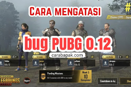 Cara Mengatasi Bug PUBG 0.12 - Mudah banget, Begini Caranya | carabapak.com