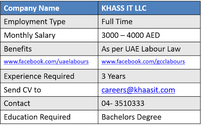 IT jobs, Sales Jobs, Dubai Jobs, UAE Jobs, Information Technology jobs, Technician Jobs, Sales person jobs, sales lady jobs