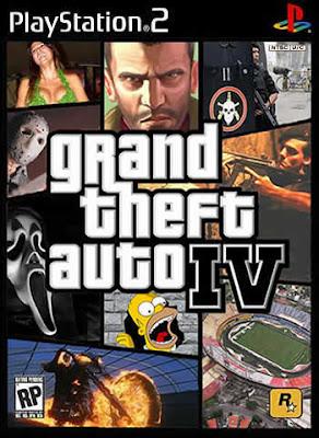 Grand Theft Auto 4 (PS2)