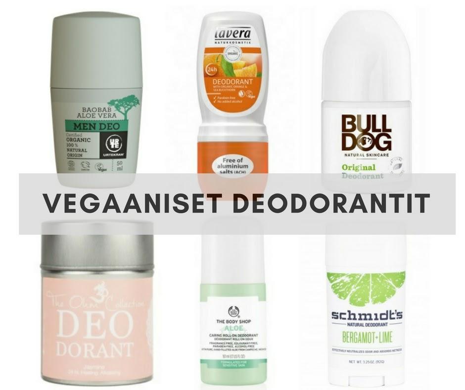 vegaaninen deodorantti