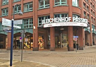 Bleichenhof Passage Hamburg