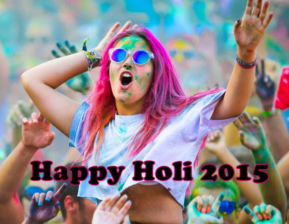 Indian Playing and celebrating Holi festival of colors picture dancing