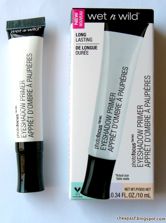 New Wet N Wild Primer PhotoFocus Eyeshadow Primer vs. (discontinued) Wet N Wild Fergie Eyeshadow Primer