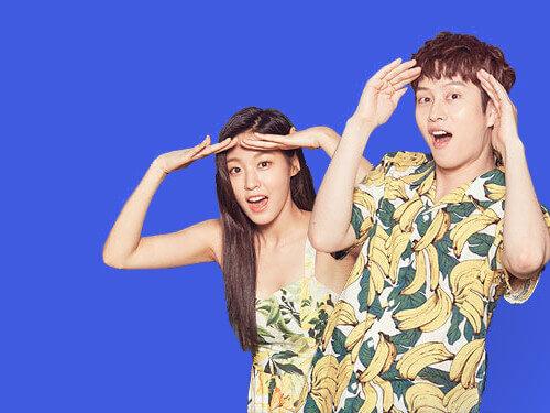 Seol Hyun (AOA) and Hee Chul