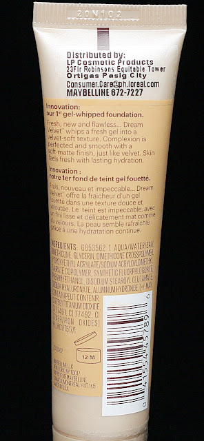 a photo of Maybelline Dream Velvet Soft Matte Hydrating Foundation in Natural Beige