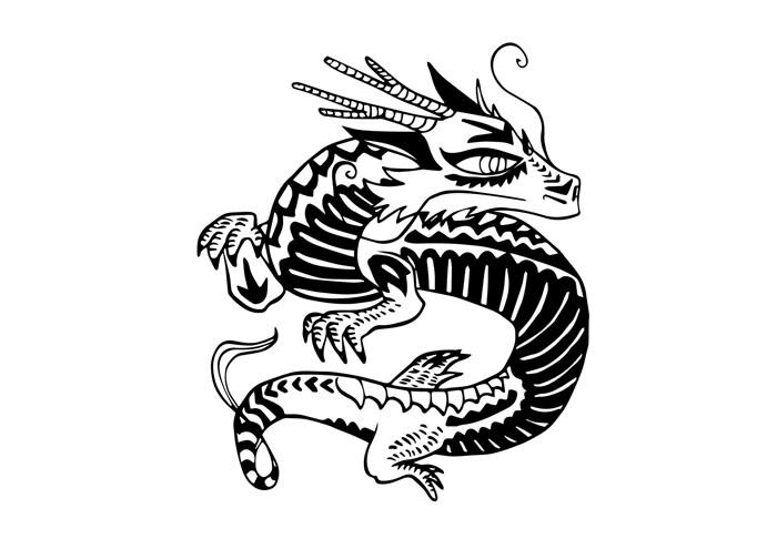 Le dragon du zodiaque chinois