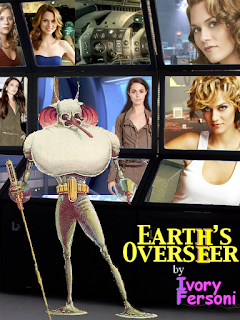 "Book cover: ""Earth's Overseer"" by Ivory Fersoni"