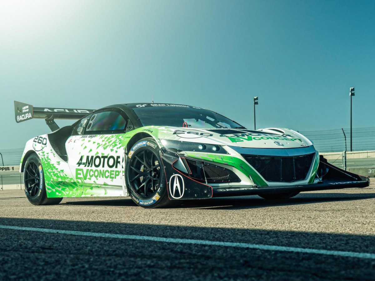 1,350 hp 4-motor SH-AWD NSX EV Concept to race @ Pikes Peak ...