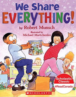 Robert Munsch, kindergarten books, starting kindergarten, kindergarten social skills, sharing social skills, back to school read alouds