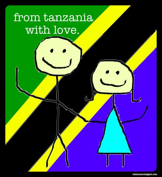 farewell from tanzania with love!