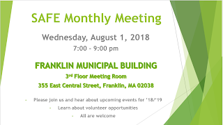 SAFE Coalition - Monthly Meeting - Aug 1