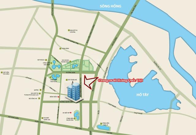 Hạ tầng dự án chung cư 60 Hoàng Quốc Việt