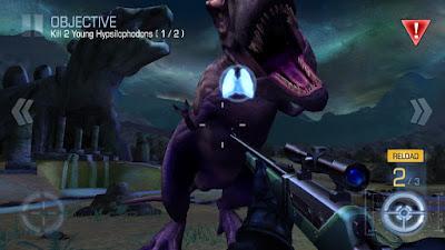 لعبة Dino Hunter للأندرويد، لعبة Dino Hunter مدفوعة للأندرويد، لعبة Dino Hunter مهكرة للأندرويد