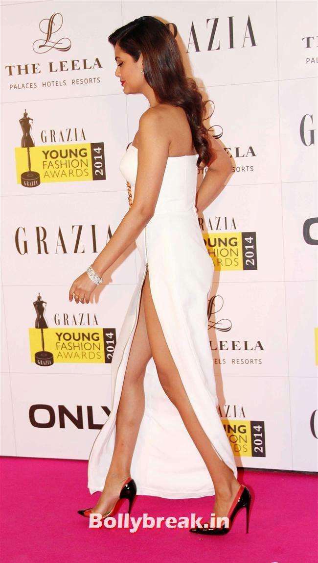 Esha Gupta, Hottest Celebs of Bollywood at Grazia Young Fashion Awards 2014