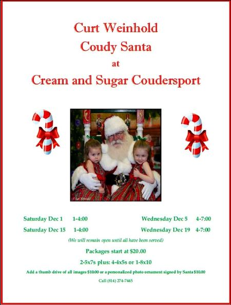 12-19 Pictures With Coudy Santa