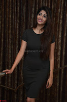 Priya Vadlamani super cute in tight brown dress at Stone Media Films production No 1 movie announcement 039.jpg