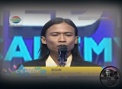 Egik Sidoarjo Gantung Mic Stand Up Comedy Academy ( SUCA ) 2, 16 Besar, Grup 3