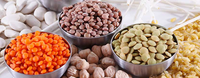 Nuts, pulses, and grains