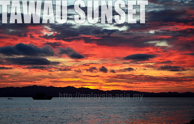Tawau Waterfront Sunset