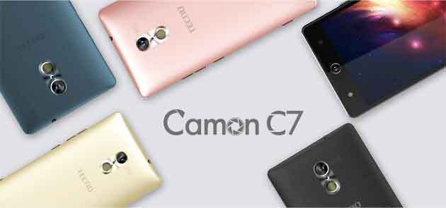 Tecno camon c7 specs and price