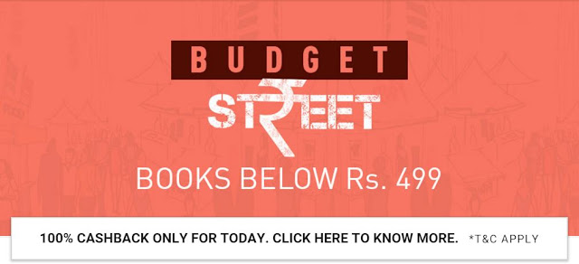 Snapdeal 100% Cashback On Books On 3 December 2015 [OFFER For TODAY Only]