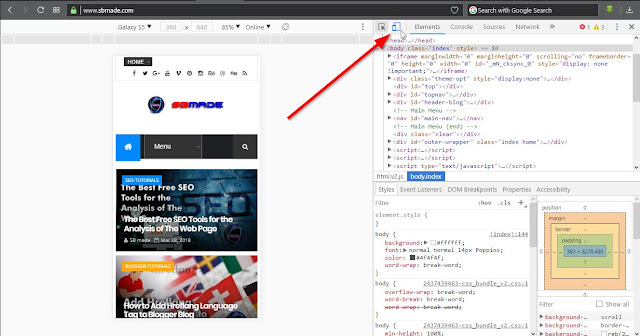 How to Emulate a Mobile Device in a Desktop Browser