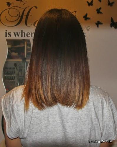 Pousse de cheveux en 9 mois