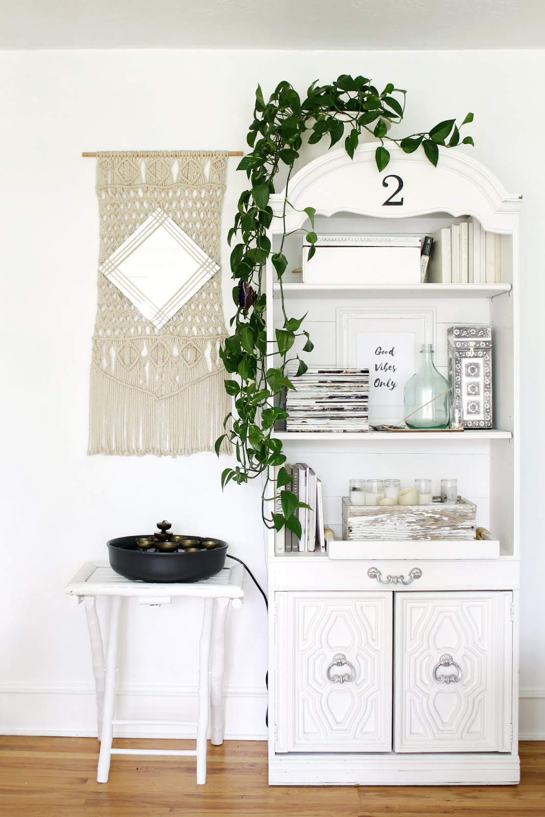 My Zen Office Sunroom Makeover And A Mural Wallpaper The