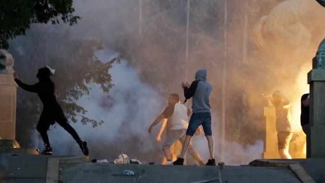 Επεισόδια στην Σερβία για την κρίση του κορωνοϊού (βίντεο)