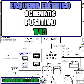 Esquema Elétrico Notebook Positivo V45 - CLEVO M540S M545S M550S M555S Laptop Manual de Serviço  Service Manual schematic Diagram Notebook Positivo V45 - CLEVO M540S M545S M550S M555S Laptop   Esquematico Notebook Placa Mãe Positivo V45 - CLEVO M540S M545S M550S M555S Laptop