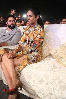 Actress Rakul Preet Singh Stills in Short Dress at Dhruva Pre Release Function  0126.JPG