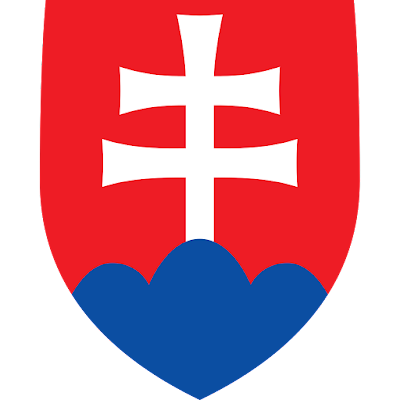 Coat of arms - Flags - Emblem - Logo Gambar Lambang, Simbol, Bendera Negara Slowakia