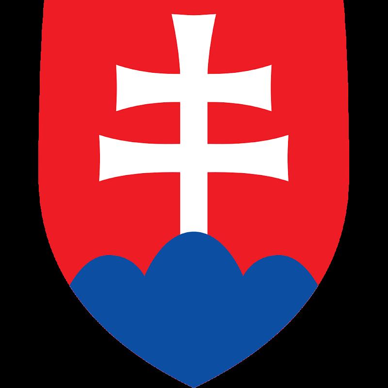 Logo Gambar Lambang Simbol Negara Slowakia PNG JPG ukuran 800 px