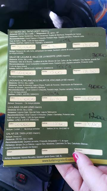 Folder da Agência Turismo Grado 10