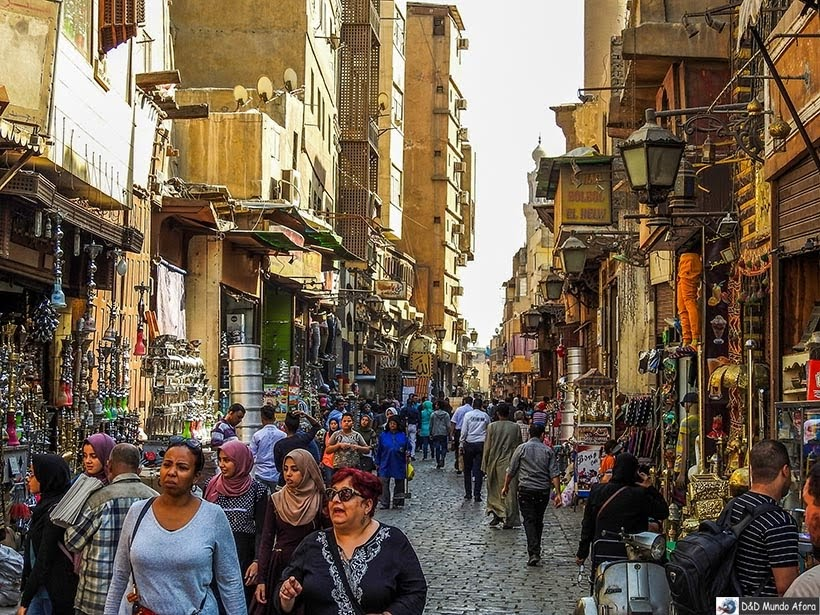 Bazar Khan-el-Khalili  - O que fazer no Cairo, Egito